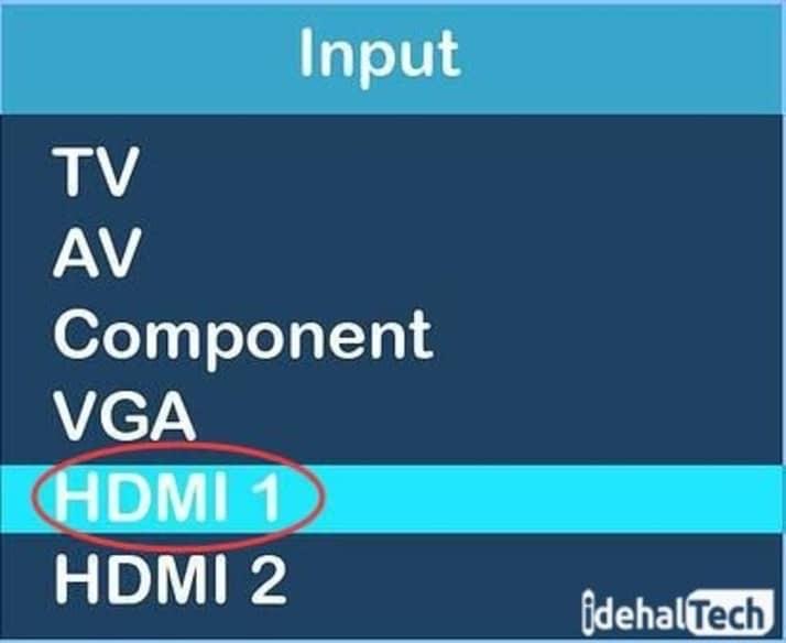 تنظیمات HDMI