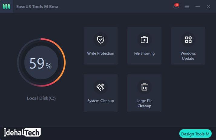 اپلیکیشن EaseUS Tools M