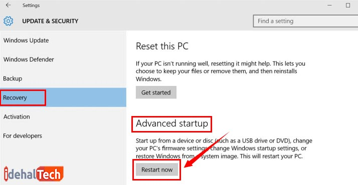 تنظیمات bios لپ تاپ لنوو