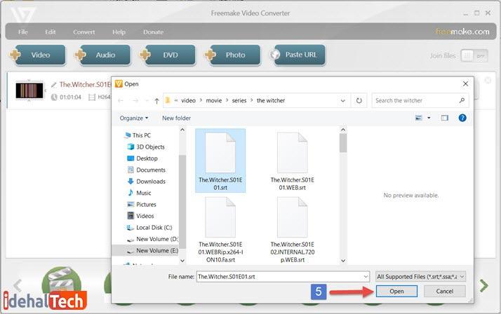 آموزش Freemake Video Converter مرحله 3