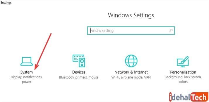 اتصال لپ تاپ به ویدیو پروژکتور در ویندوز 10
