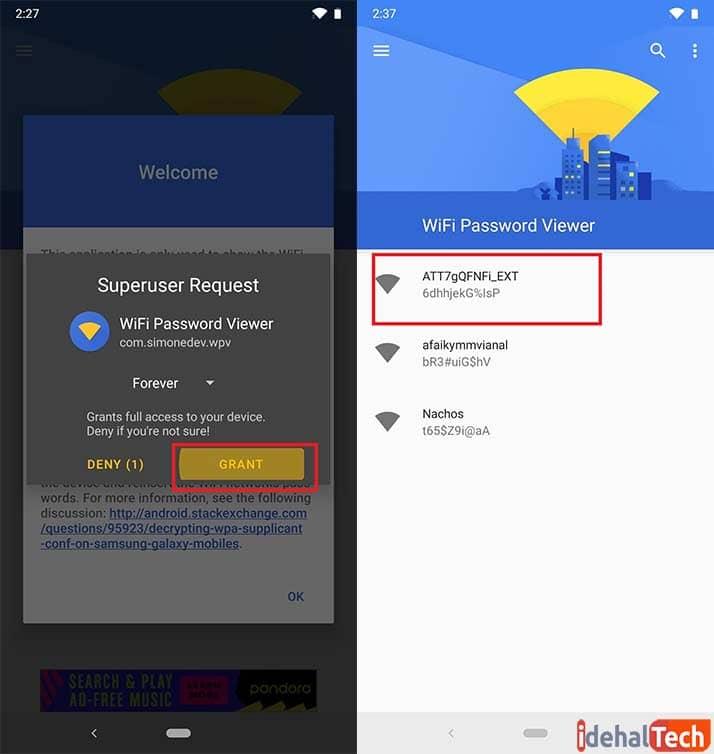 اپلیکیشن WiFi Password Viewer