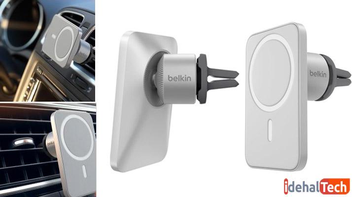 پایه نگهدارنده گوشی در داخل خودرو بلکین