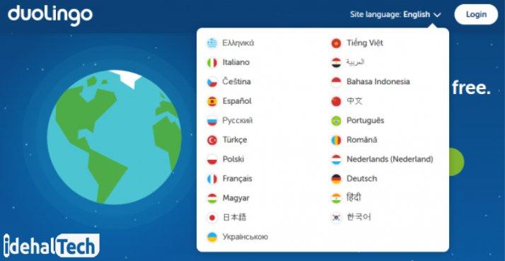 دانلود اپلیکیشن duolingo