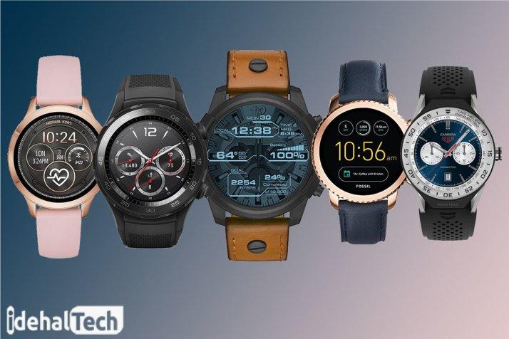 طراحی ظاهری ساعت هوشمند