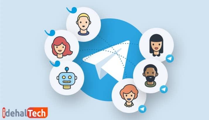 یک تصویر مناسب باری پروفایل کانال تلگرام بسازید