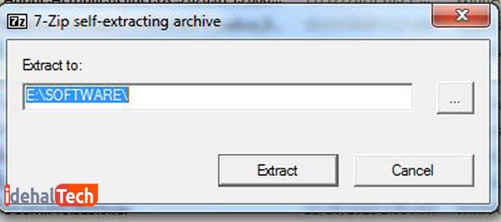 آموزش تکه تکه کردن فایل با winrarـ راهنمای نصب برنامه ـمرحله 2