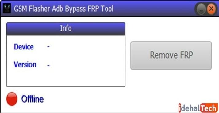 برنامه GSM Flasher ADB