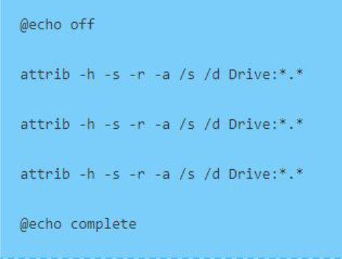 قطعه کد فایل دسته ای