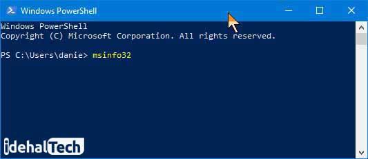 دسترسی به اطلاعات System Information از طریق Command Prompt یا PowerShell