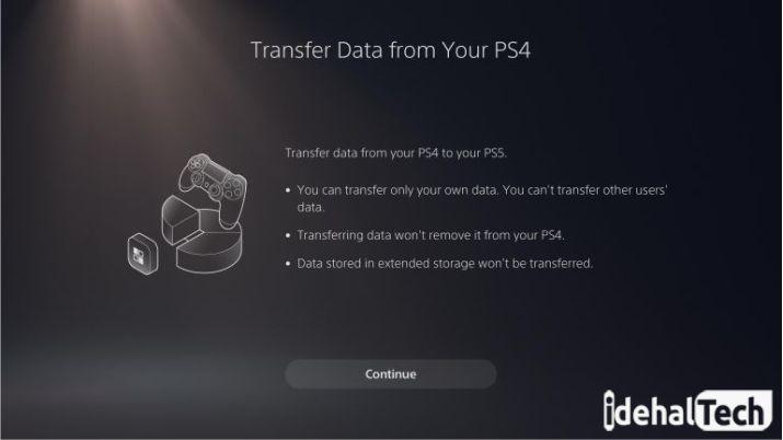 بازی های PS4 را به PS5 انتقال دهید
