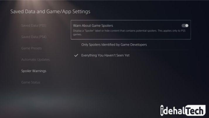 سطح HDR تصاویر در PS5 را تنظیم کنید