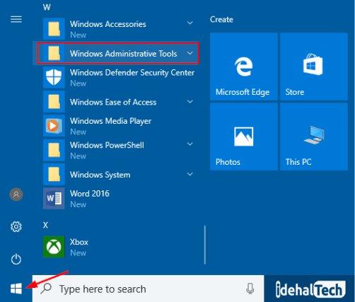 Windows Administrative Tools