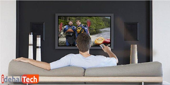 انتخاب بهترین اندازه تلویزیون برای اتاق های مختلف