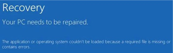 خطای file system
