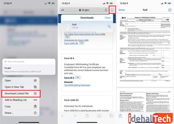 دانلود آسان فایل ها در سافاری