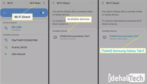 فعالسازی wifidirect در اندروید