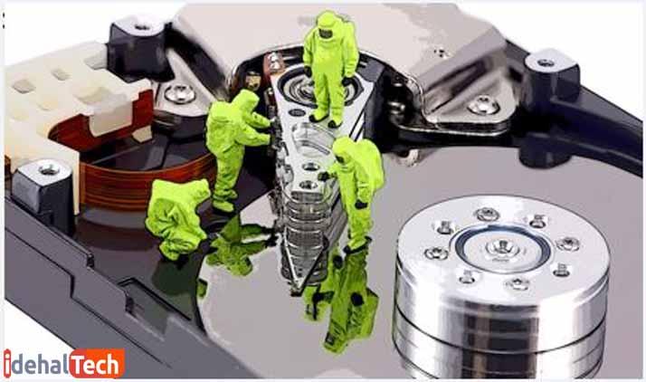 تعمیر هارد دیسک سوخته