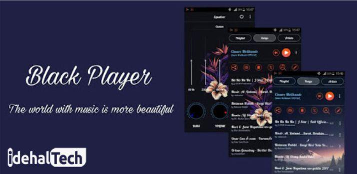 اپلیکیشن BlackPlayer