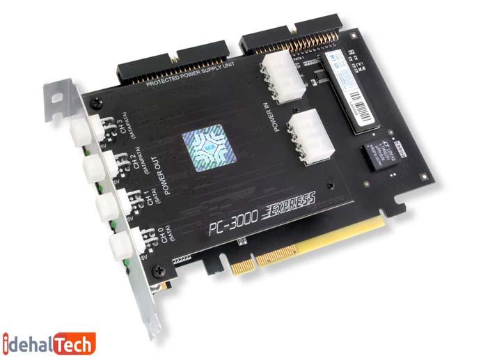 قطعه PC3000 برای ریکاوری دادهها