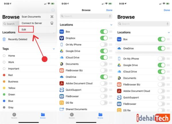 اضافه کردن خدمات به اپلیکیشن files