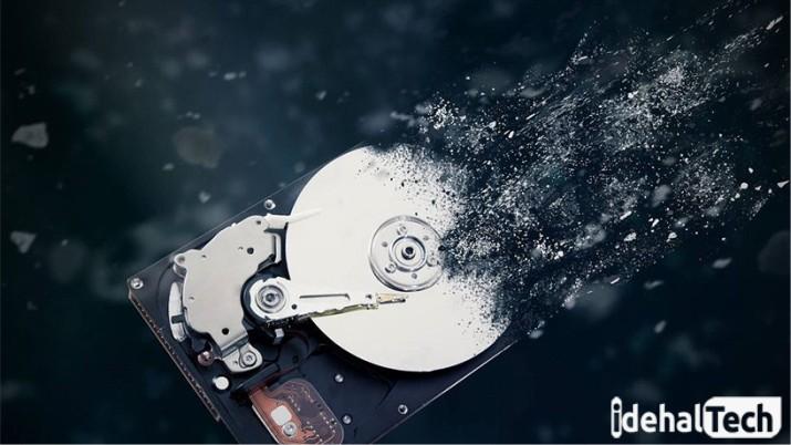 اجزای مختلف تشکیل دهنده هارد دیسک