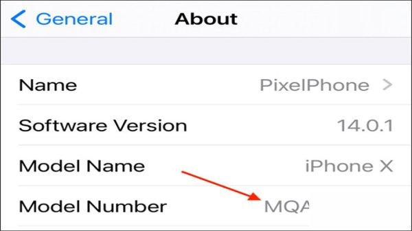 مشاهده iphone number