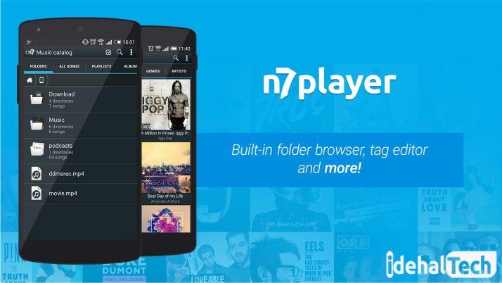 پلیر موزیک n7player