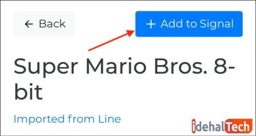اضافه کردن sticker به پیام رسان signal