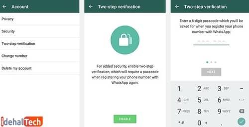 احراز هویت دو مرحلهای را فعال کنید