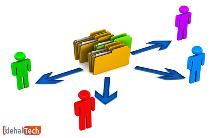 مزایا و معایب اشتراک فایل