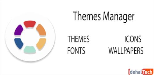 نصب فونت فارسی در هواوی با استفاده از اپلیکیشن «Themes manager»