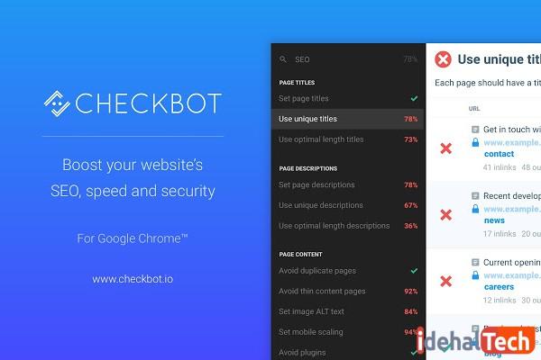 افزونه Checkbot