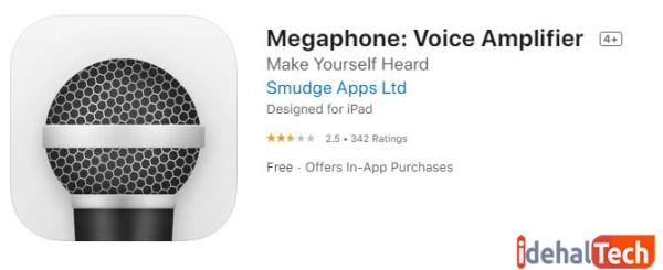 برنامه Microphone