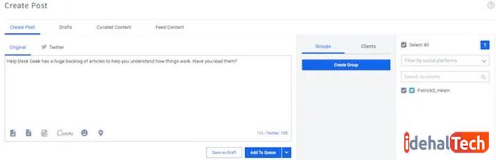 ارسال خودکار پیام با SocialPilot