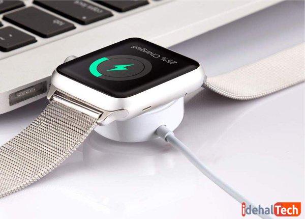 شارژ شدن معمولی apple watch