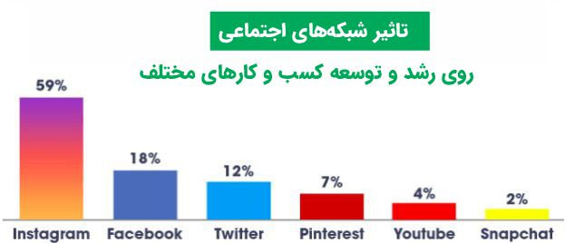 تاثیر شبکه های اجتماعی روی کسب و کارهای مختلف
