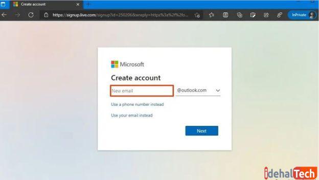 حساب مایکروسافت خود را فعال کنید