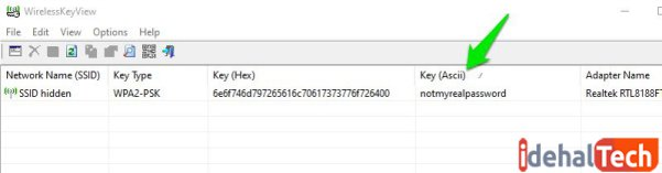 استفاده از برنامه های شخص ثابث برای مشاهده رمز وای فای