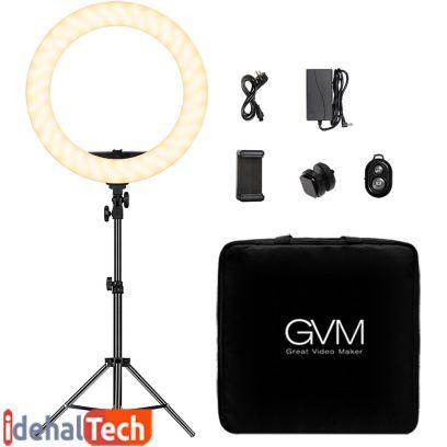 GVM Bi-Color LED Ring Light