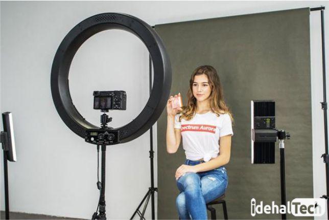 استفاده از ring light در فیلمبرداری