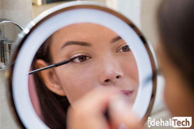 آموزش آرایشگری با رینگ لایت